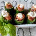 Tronchetti di zucchine e Prosciutto crudo